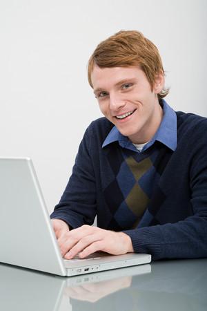 grown ups: Portrait of an office worker