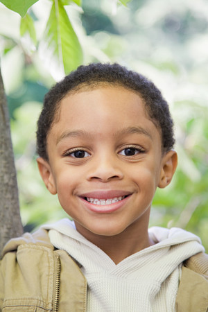 afro caribbean ethnicity: Boy outdoors