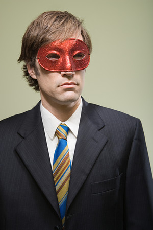 30 to 40 year olds: Office worker wearing mask