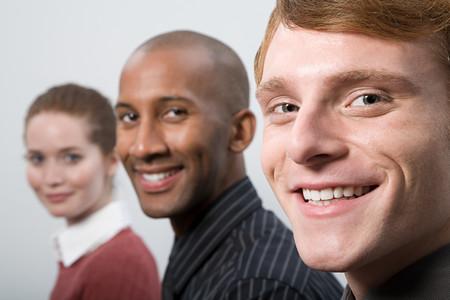 Portrait of businesspeople photo