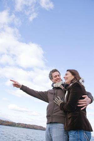 chuckling: A couple