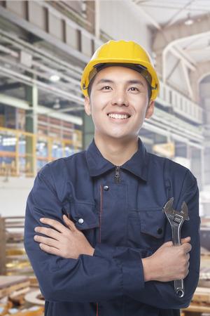 Portrait of Construction Worker photo