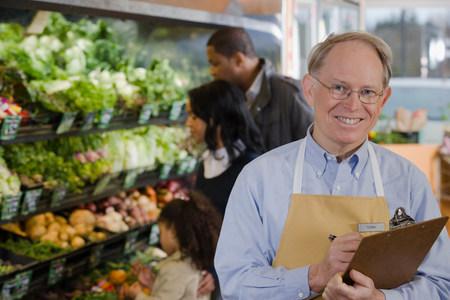 Portrait of a sales assistant