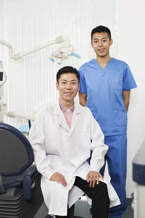Portrait Of Dentists Stock Photo