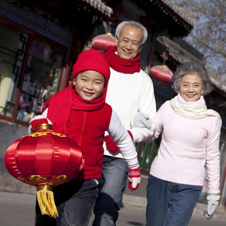 Family Celebrates Chinese New Year