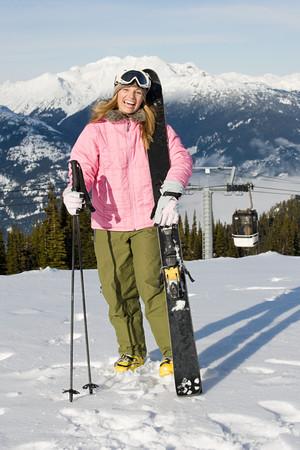 narciarz: Skier