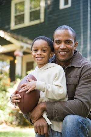 父と息子とサッカー