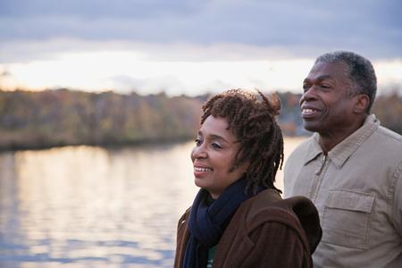 mujeres africanas: Una pareja