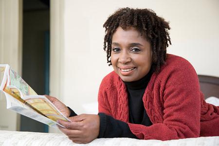 persone nere: Ritratto di una donna matura