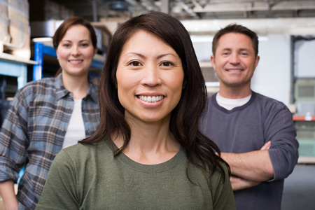 small business owner: Colleagues Stock Photo