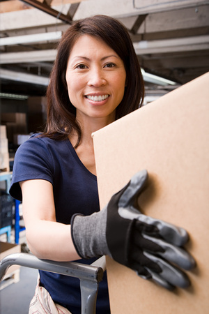 safety box: Warehouse worker