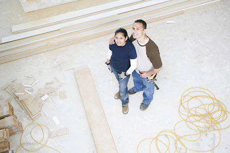 pacific islander ethnicity: A couple in their new home