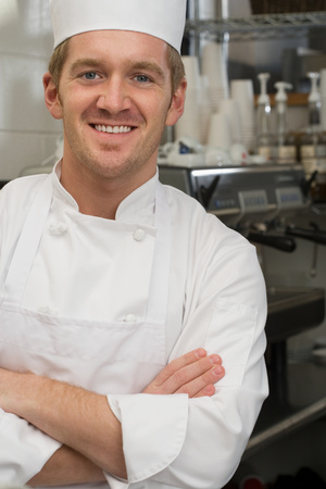 small business owner: Portrait of a chef