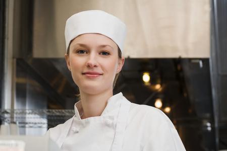 restaurant kitchen: Chef