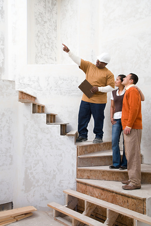 pacific islander ethnicity: A builder with a man and woman