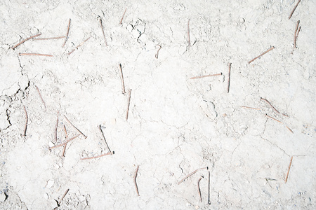 discarded: Discarded nails