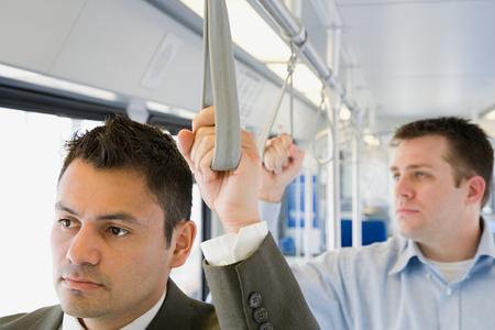 commuting: Men commuting