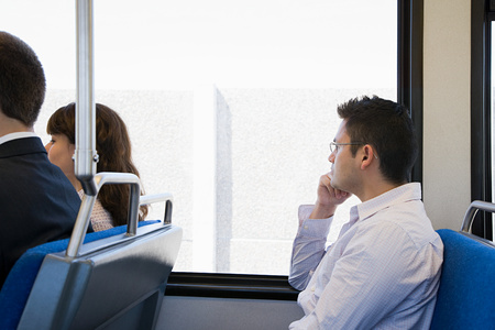 korean ethnicity: People on train