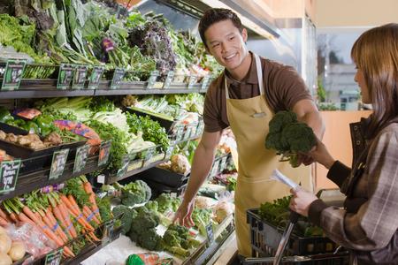 food sales: Supermarket