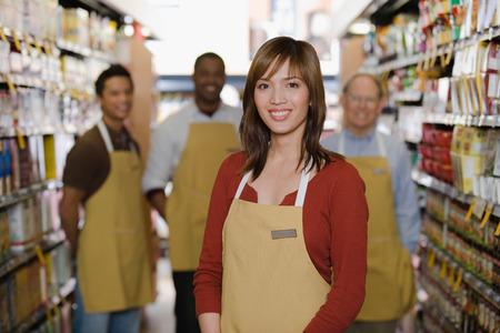 Portret van sales assistant
