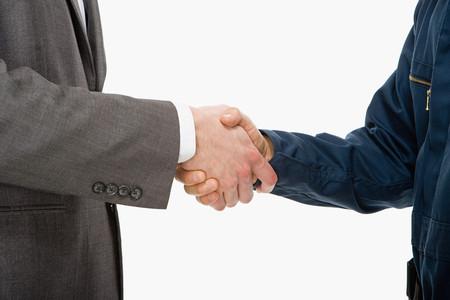 tradespeople: Handshake