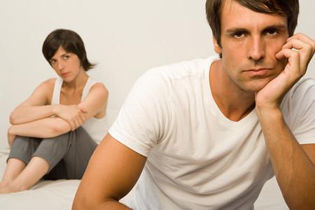 tense: Couple arguing