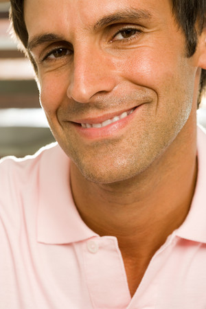 mid adult: Portrait of a mid adult man Stock Photo