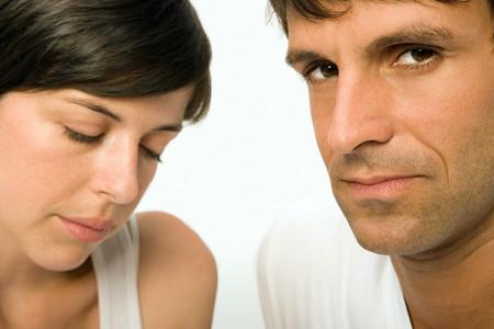 man and woman sex: Несчастная пара