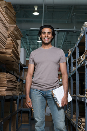 indian ethnicity: Factory worker