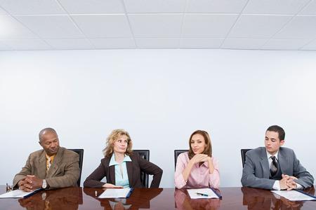 envious: Four envious colleagues