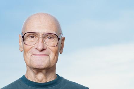 hombre calvo: Retrato de un hombre de categor�a superior