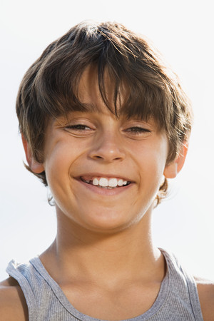 tween boy: Happy boy