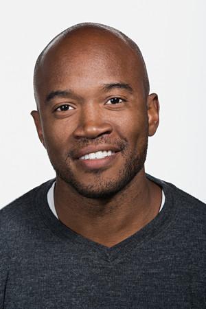 Portret van medio volwassen Afro-Amerikaanse man