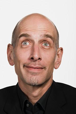 mature adult: Portrait of mature adult Caucasian man