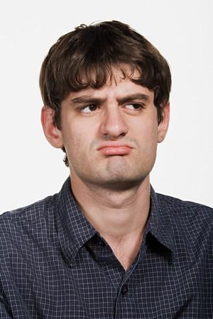 Portrait of mid adult Caucasian man Banco de Imagens