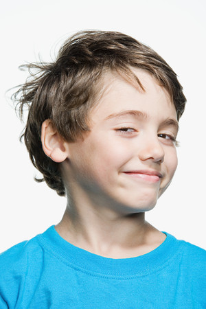 cropped shots: Portrait of a young boy
