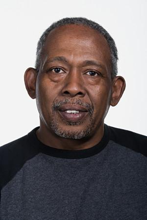 Portret van volwassen African American man