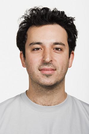 Portrait of mid adult Caucasian man 免版税图像