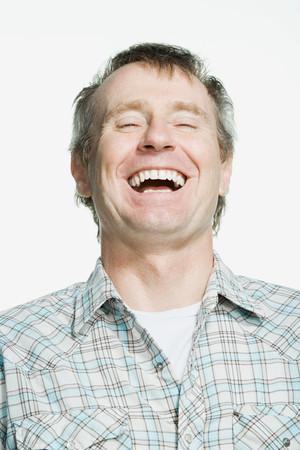 mature adult: Portrait of a mature adult man