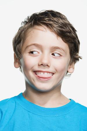 kid portrait: Portrait of a young boy