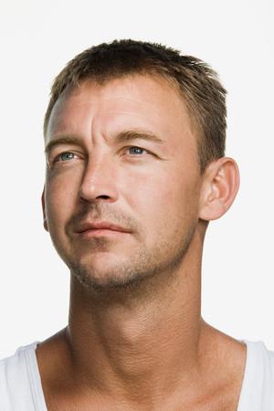 Portrait of a mid adult man Imagens