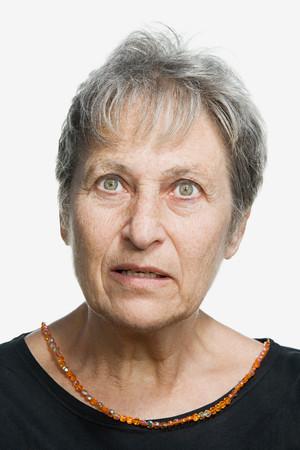 mature adult: Portrait of a mature adult woman Stock Photo
