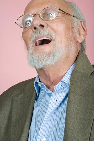 Man wearing eyeglasses Imagens
