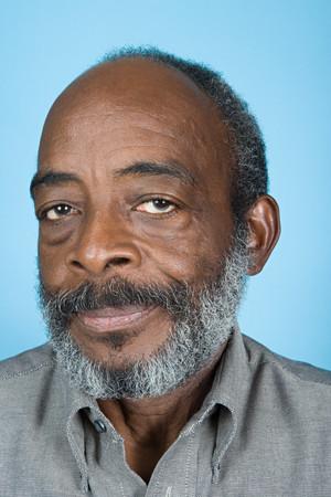 one senior adult man: Portrait of a senior adult man