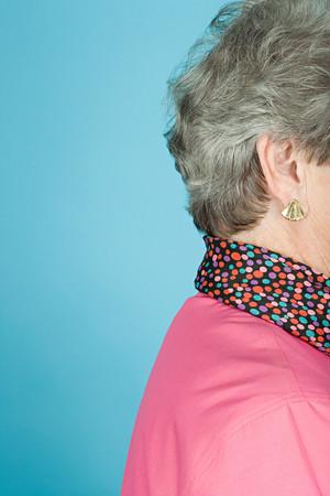 cropped shots: Senior woman
