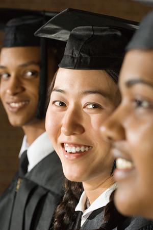 negras africanas: ceremonia de graduaci�n de estudiantes