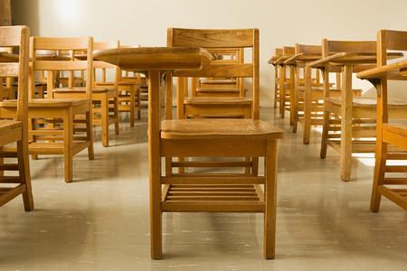 empty classroom: Empty classroom