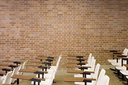 convivencia escolar: sala de conferencias vac�a