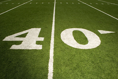 forty: Forty yard line