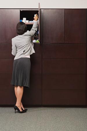 empleado de oficina: Mujer oficina ordenaci�n